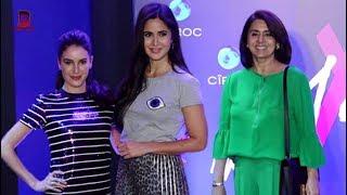 Katrina Kaif, Ranbir Kapoor's Mom Neetu Singh Arrive At SHWETA BACHCHAN LAUNCH OF NEW LABEL MXS