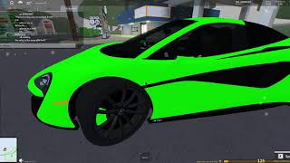 Reviewing the new Mclaren 570s in Roblox Ultimate Driving: Odessa