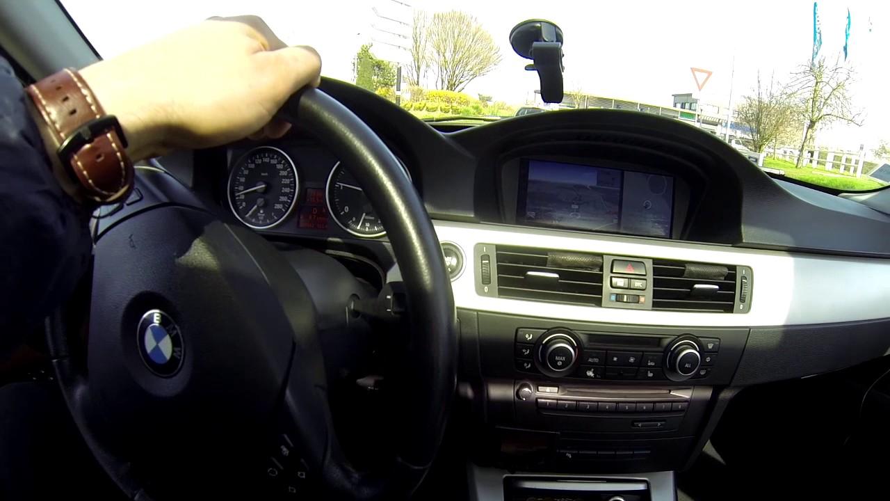 """""""ВОЛК В ОВЕЧЬЕЙ ШКУРЕ"""". BMW E90 335D 286HP. Взгляд изнутри."""