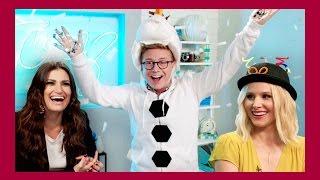 Frozen Extravaganza ft. Kristen Bell & Idina Menzel | The Tyler Oakley Show