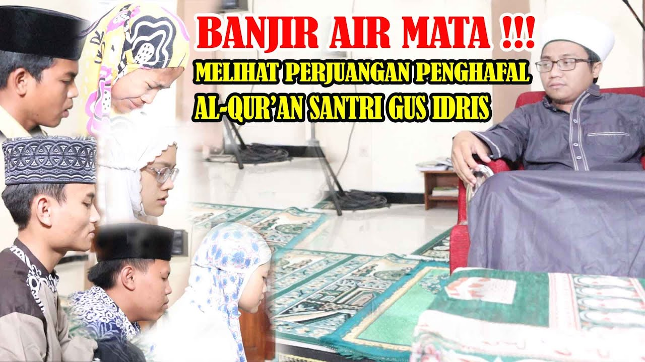 Download JUTAAN ORANG MENANGIS - MELIHAT PERJUANGAN HAFIDZ QUR'AN SANTRI GIO
