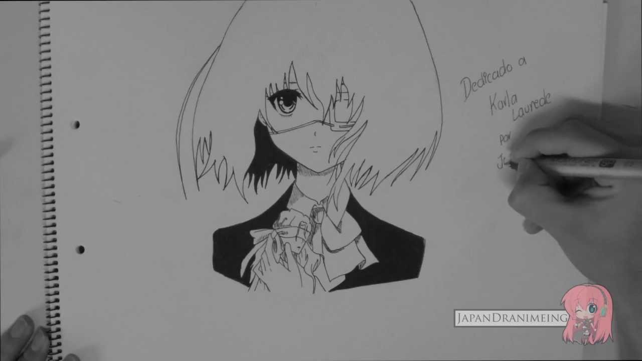 Como Dibujar Misaki Mei de Another  YouTube