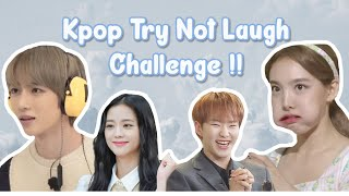 ULTIMATE KPOP TRY NOT TO LAUGH CHALLENGE | KPOP FUNNY MOMENTS