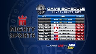 JULY 14: 41st William Jones Cup: Mighty Sports - Go for Gold Philippines vs Japan