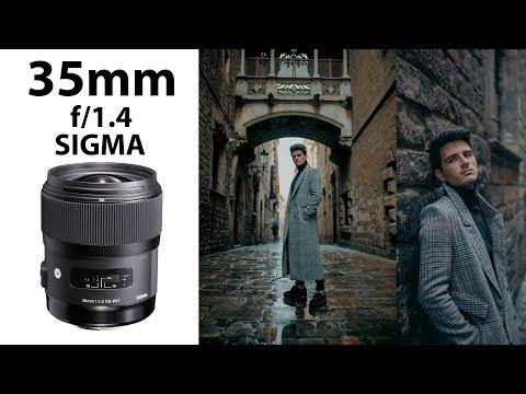 Sesión de fotos: 35mm f/1.4  - Con Sergi Pedrero