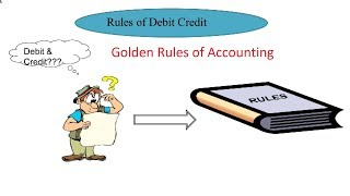 |Understand what are Golden Rules of Accounting| Derive Golden Rules of Accounting| Types of account