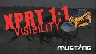Mustang Head 2 Head Visibility - RT Series Track Loaders Thumbnail