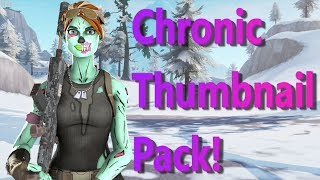 How to Get a [FREE] Chronic Fortnite Thumbnail Pack! Thumbnail Items for Fortnite Content Creators!