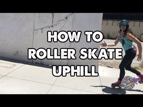 How to Roller Skate Uphill ! Planet Roller Skate Shorts