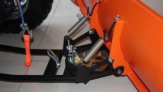 Снегоотвал на квадроцикл своими руками(стоит ли покупать заводской снегоотвал на квадроцикл или все таки лучше сделать его своими руками ответ..., 2016-01-30T06:08:00.000Z)