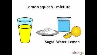 Science - Separation and Mixture - English