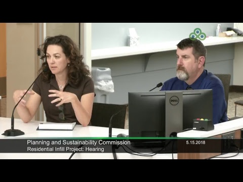 Planning and Sustainability Commission 05-15-2018