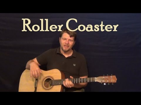 Roller Coaster (Luke Bryan) Easy Guitar Lesson How to Play Tutorial