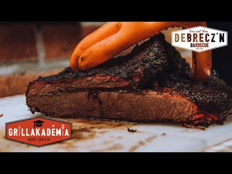 BBQ Marhaszegy (Beef Brisket) Grillakadémia & Hortobágy Angus