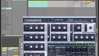 how to add massive plugin to ableton