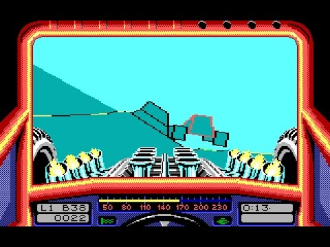 Stunt Car Racer (PC/DOS) 1989, MicroStyle - YouTube