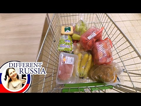 How Much Food You Can Buy with  $ 25 in Russia. We test Chinese Gopro Action Camera