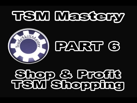 Shop & Profit with TSM 3 Shopping Operation! How-To Explained in TSM Mastery Part 6