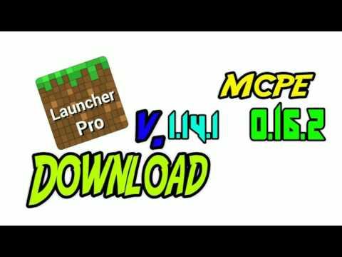 ~DOWNLOAD BlockLauncher PRO v1.14.1 PARA o MCPE 0.16.2 / Minecraft PE / CanalBlockL