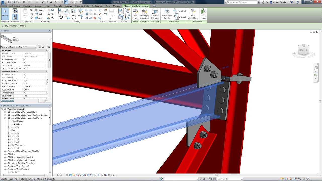 Structural-Steel-Connections-in-Revit-and-Advance-Steel Structural Steel Connections in Revit and Advance Steel