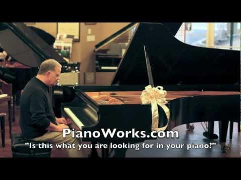 4 Jazz Songs - Steinway model D - rebuilt by PianoWorks