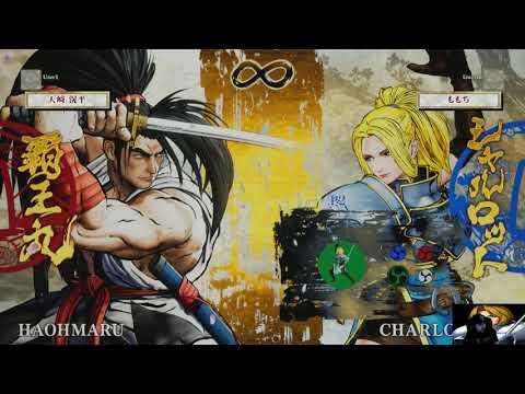 Samurai Shodown 2019 Exhibition - EVO JP CHAMP Momochi teaches Charlotte! - 동영상