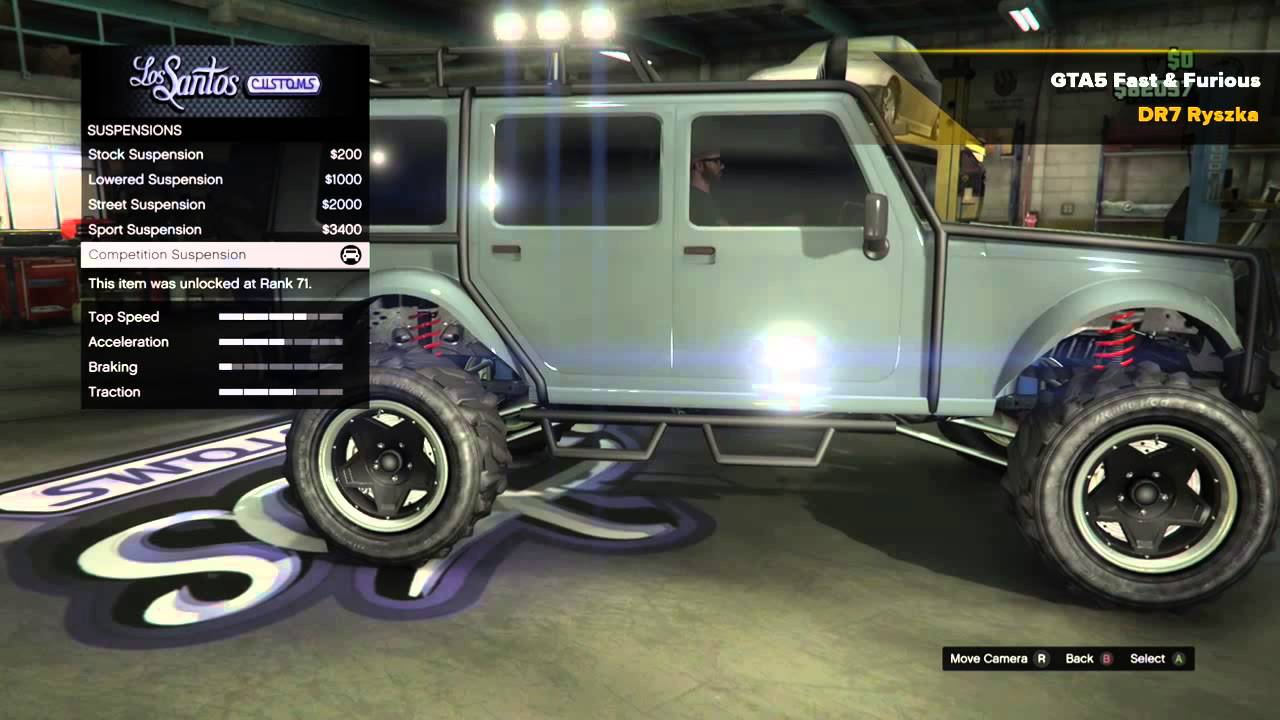 gta 5 fast and furious 7 ludacris 39 s jeep wrangler. Black Bedroom Furniture Sets. Home Design Ideas