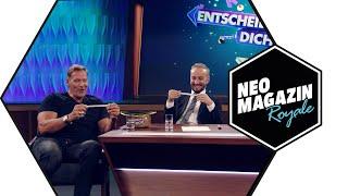 Entscheide dich! mit Ralf Moeller und Jan Böhmermann