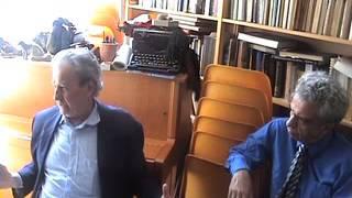 Jacques Halbronn  Paris Juillet 2011, Jacques Halbronn  avec Alain Agobert thumbnail