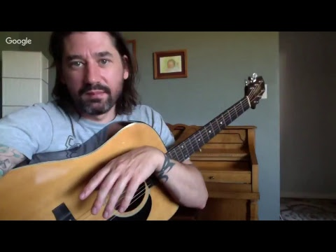 Peace Train Guitar Lesson (Verse) Live Stream Sept. 2nd, 2017