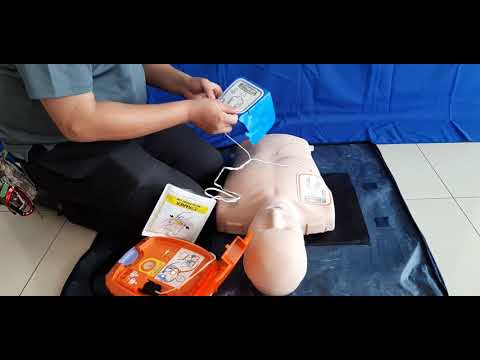 NK 3100 Layman User Hand Only CPR follow voice instructions
