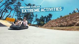[Viral 01: Awesome Korean Extreme Activities]