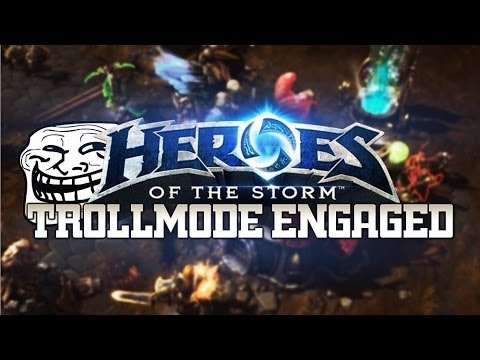 TROLL-MODE Engaged : Heroes of the Storm - Exploiting the Demolitionist talent with friends |