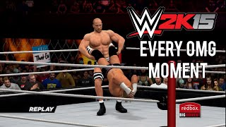 WWE 2K15 How to perform Every OMG Moment (Tutorial)