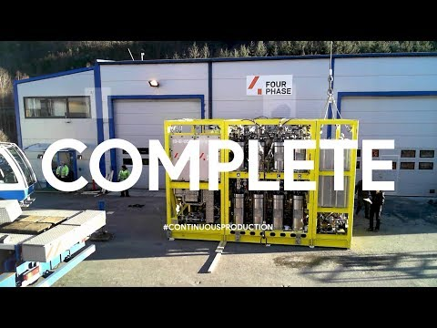 FourPhase - Bulk Desander System - Assembly & Testing (time-lapse)