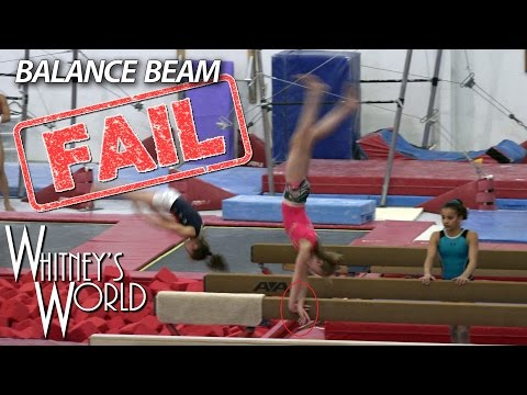 Balance Beam Fail | Whitney Bjerken