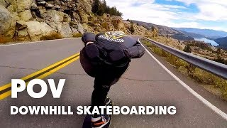 Bombing Cannibal Canyon | Downhill Skateboarding POV