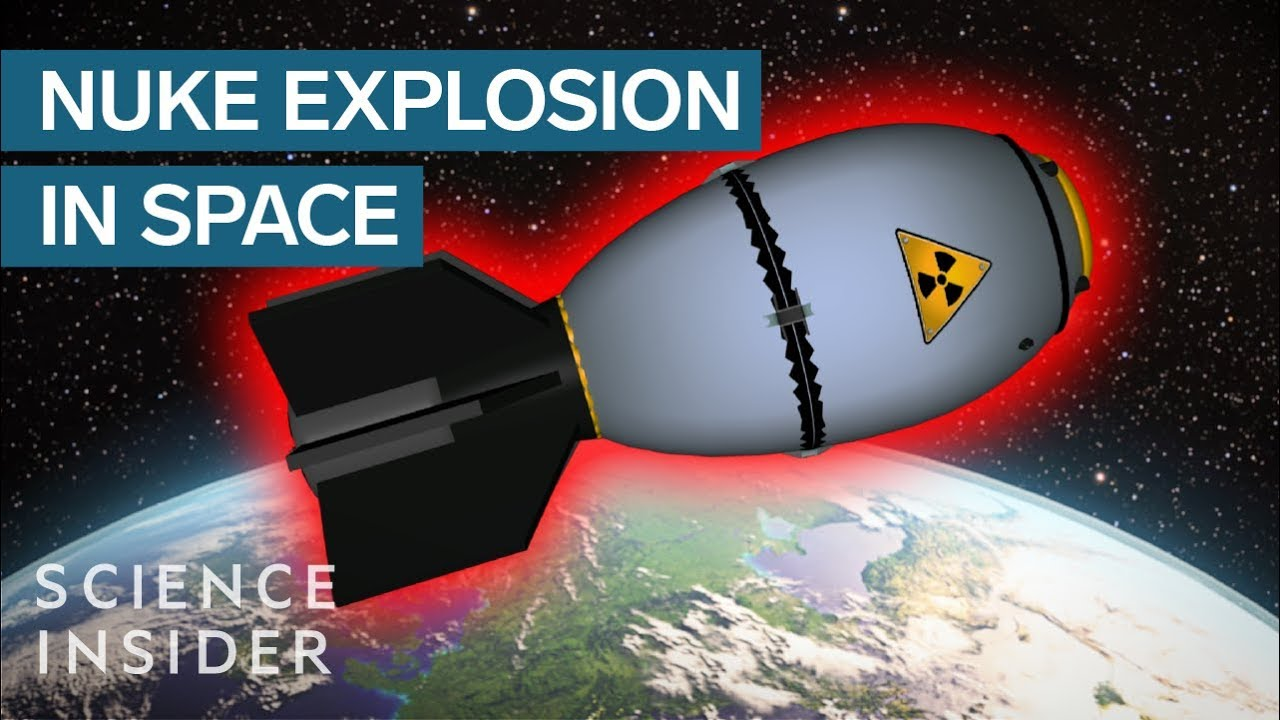 What Happens If We Nuke A Nuclear Bomb In Space ?