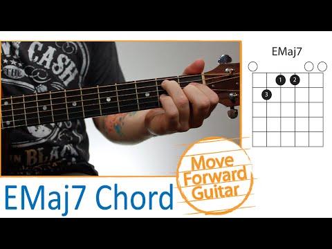 Emaj7 Guitar Chord Chordsscales