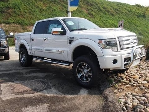 2013 Ford F 150 Lariat Ftx Tuscany Lifted Truck 4 Sale