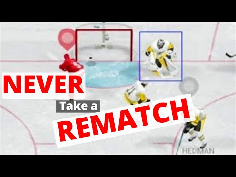 NEVER TAKE A REMATCH | NHL 18 Revenge
