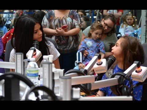 Conrad Sewell, 5SOS and Selena Gomez Visit Seacrest Studios