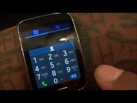 Samsung Gear - S Unboxing And First Impressions