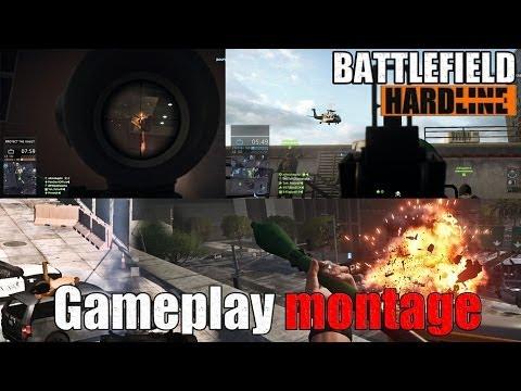 Battlefield HARDLINE Gameplay Montage (Crane Collapse, Car Sex, RPG Fun)