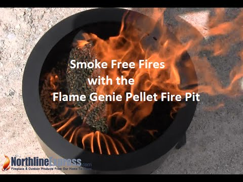The Small But Mighty Flame Genie Pellet Fire Pit Youtube