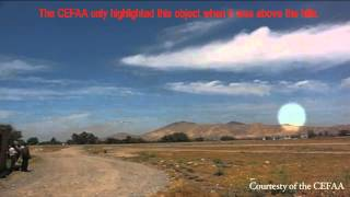 ANALYSIS - UFOs over El Bosque Air Base in Santiago Chile - PART 1
