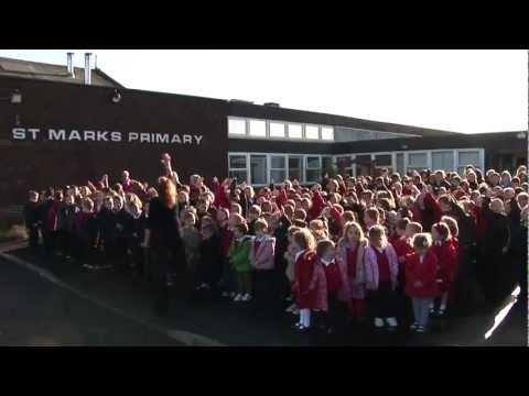 Bandstand Arrives at St Mark's Primary, Irvine