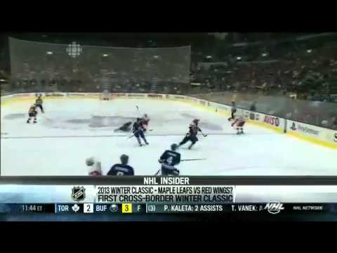 8404f9757 2013 NHL Winter Classic  Toronto Maple Leafs vs Detroit Red Wings at