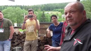 🍲 Бограч с клёцками (венгерский гуляш по-закарпатски) рецепт приготовления в казане - PestoCamp