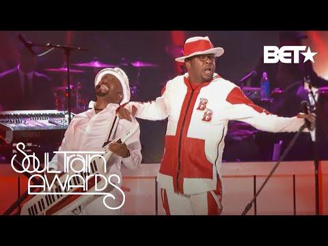 "Bobby Brown, Teddy Riley Perform ""My Prerogative"" at  Soul Train Awards 2016"